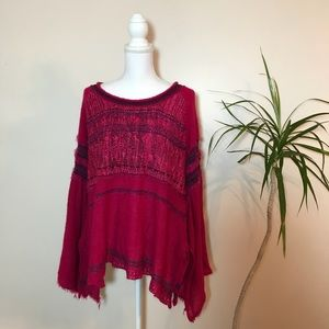 (Free People) Craft Time Bell Sleeve Sweater